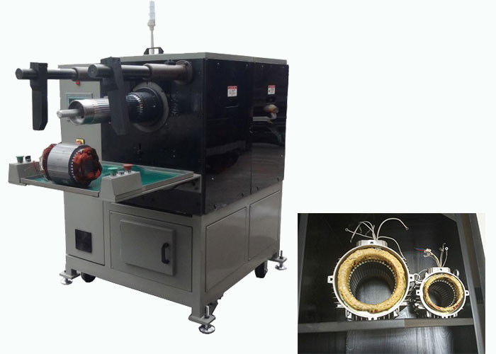 Stator Coil Winding Inserting Machine Generator Motor Two Working Station