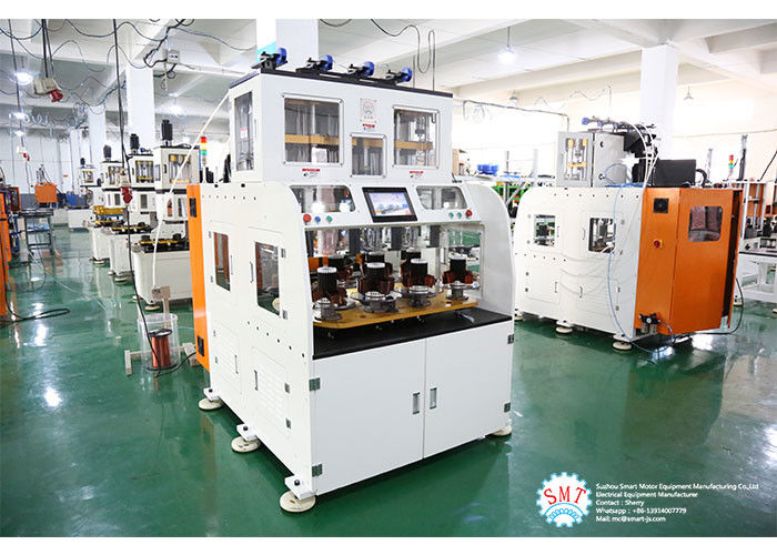 Full Automatic Stator Electric Motor Winding Machine With Eight Working Station