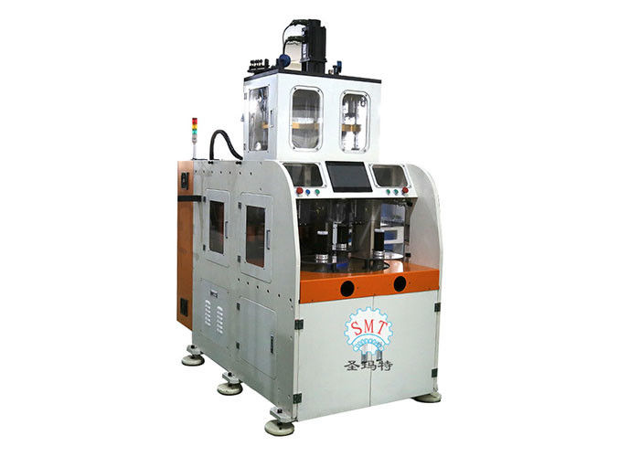 High Speed Electrical Winding Machine For Stator Coil Winding / Double Head